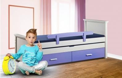 מיטות ילדים מעץ מלא - מתצוגה