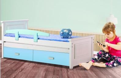 מיטת ילדים 100% עץ אורן -  דגם ליבי