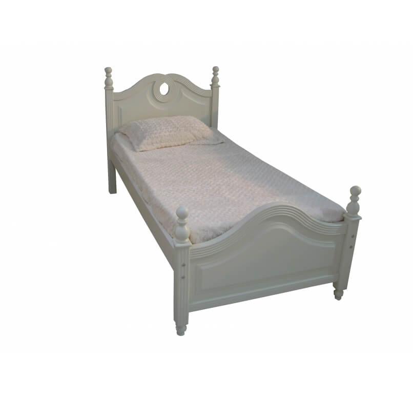 מיטת ילדים ליחיד לבן - 1,290 ש