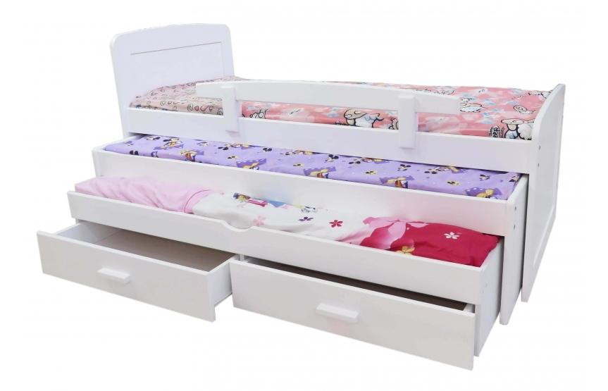 מיטה משולשת לילדים  100% עץ אורן -משתתף במבצע רק 2,690 ש