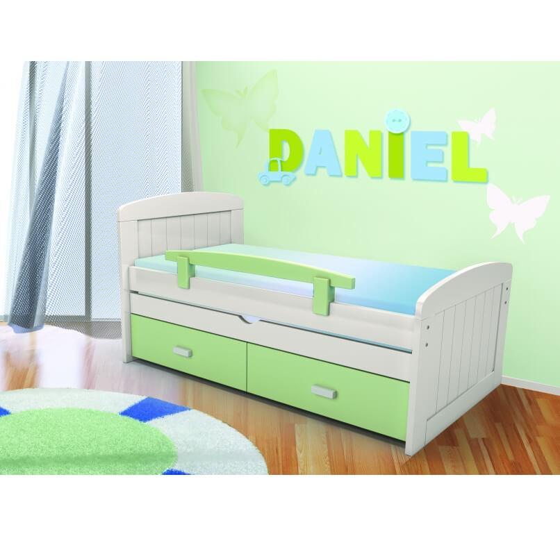 מיטה  100% עץ מלא - דניאל