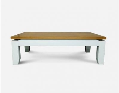 מזנון ושולחן סלון לובן