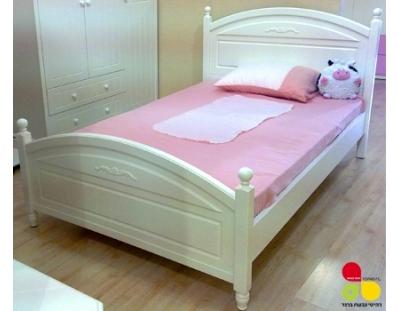 מיטת ילדים ונוער שירה פרובנס רהיטי גבעת ברנר