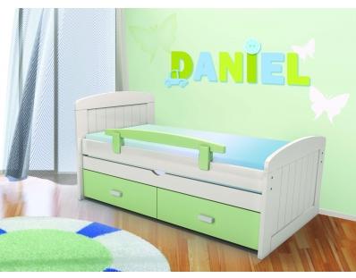 מיטת ילדים מעץ אורן תצוגה דגם דניאל