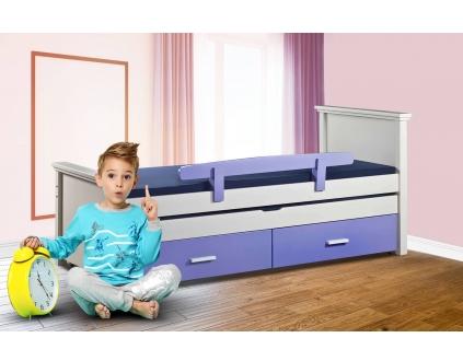 מיטת ילדים מעץ מלא מתצוגה