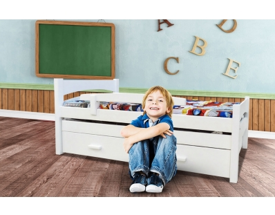 מיטת ילדים עץ אורן סתיו