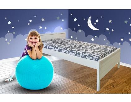 מיטת ילדים עץ מלא שלבי