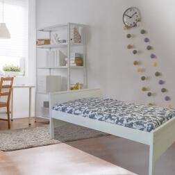 מיטת ילדים ונוער 100% עץ מלא -שלבי