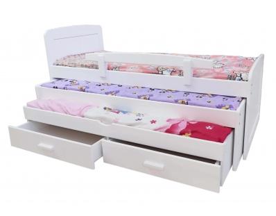 מיטה משולשת לילדים  100% עץ אורן