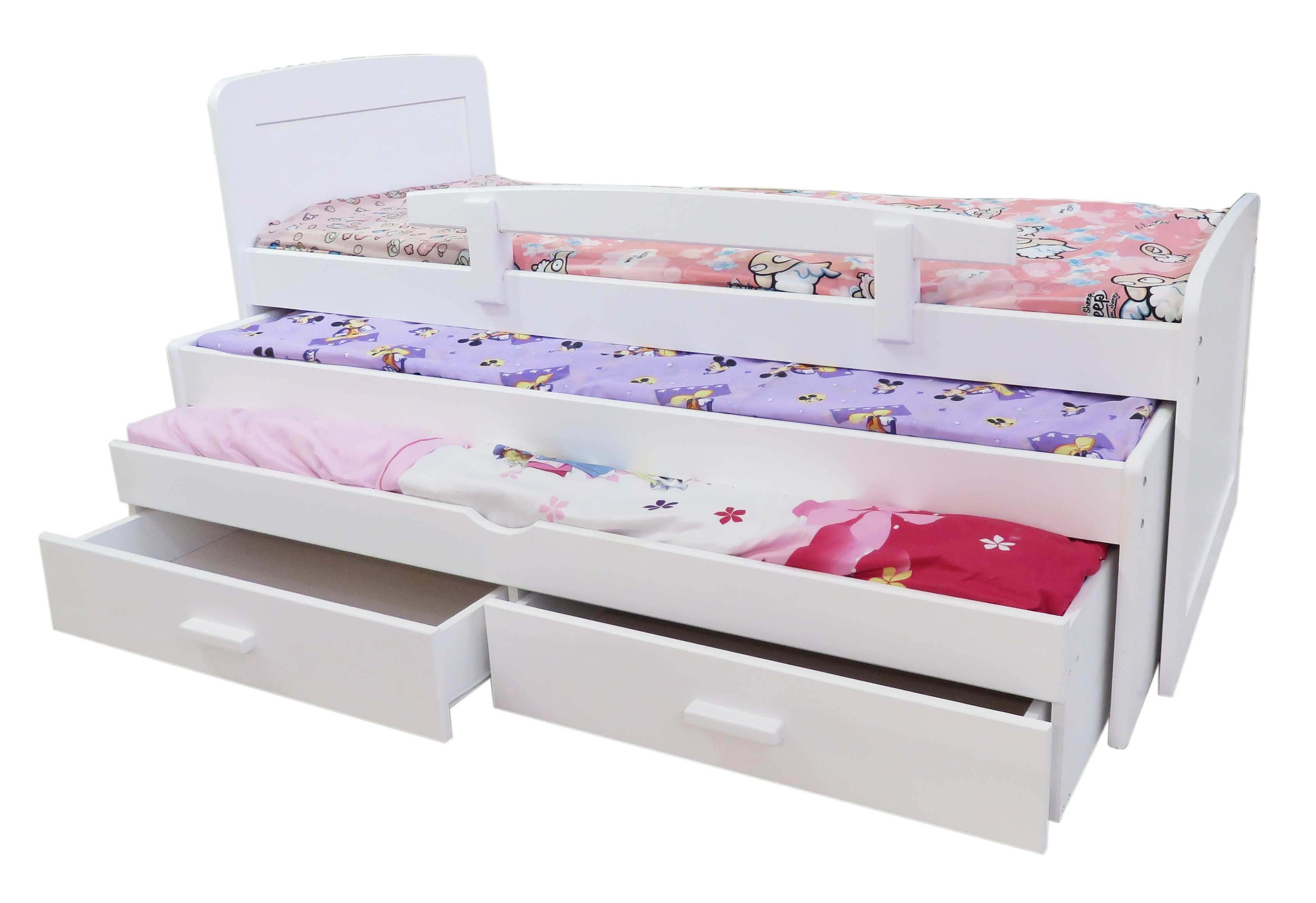 עדכני מיטת משולשת - רהיטי גבעת ברנר 100% עץ מלא IM-26